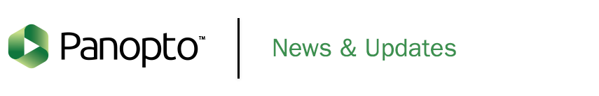 Panopto Logo | News & Updates